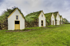 Turf Houses Stock Images
