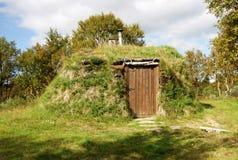 Turf hut Stock Photo