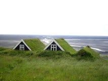 Turfhouses, Skaftafell National Park, Iceland Royalty Free Stock Image