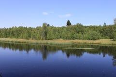 Turfiness sjö Royaltyfri Foto