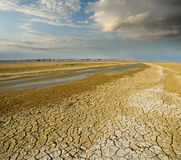 Turgai riverbed Zdjęcie Royalty Free