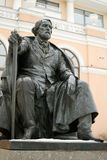 Turgenev的纪念碑 库存照片