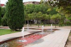 Turia City Park in Valencia, Spain Stock Photos