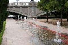 Turia City Park in Valencia, Spain Stock Photo