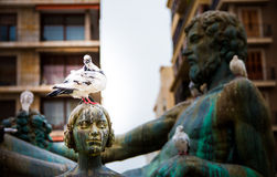 Turia Fountain Immagini Stock Libere da Diritti