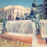 Turia Fountain Stock Photos