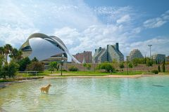 Turia Gardens In Valencia, Spain Royalty Free Stock Images