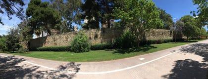 Turia Gardens panorama Royalty Free Stock Image