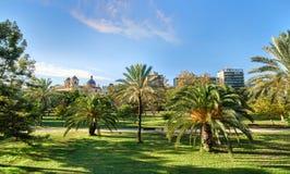 Turia Gardens Valencia Spain Stock Images