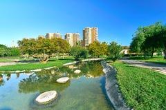 Turia Gardens Valencia Spain Stock Photography
