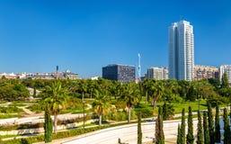 Turia Gardens in Valencia, Spain Royalty Free Stock Photography