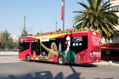 Turibus, turystyczny dwoistego decker autobus w Meksyk Zdjęcie Royalty Free