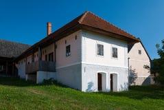 从Turiec的村庄-斯洛伐克村庄的博物馆, JahodnÃcke hà ¡ je,马丁,斯洛伐克 免版税库存照片