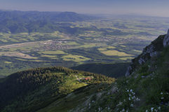 Turiec dolina Obraz Stock