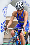 12de uitgave van de trofee van de Stad van Turijn van triathlon Royalty-vrije Stock Fotografie