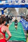 12de uitgave van de trofee van de Stad van Turijn van triathlon Stock Foto