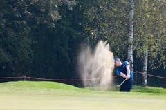 Turijn (ITALIË) 22 SEPTEMBER: 70 ' Open het Italiaans, Golfclub Turijn stock afbeeldingen