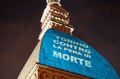 Turijn tegen doodstraf Royalty-vrije Stock Fotografie