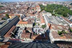Turin, À, l'Italie - 27 août 2015 : vue à couper le souffle du t Photos stock