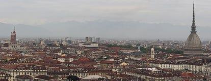 Turin-Überblick Stockbild
