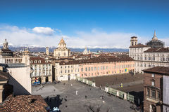 Turin from above, Italy Royalty Free Stock Image