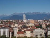 Turin-Ansicht Lizenzfreies Stockbild