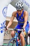 12th upplaga av Turin stadstrofén av triathlonen Royaltyfri Fotografi