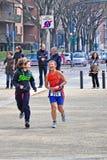 12th upplaga av Turin stadstrofén av triathlonen Royaltyfria Bilder