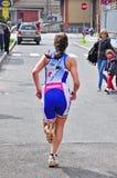 12th upplaga av Turin stadstrofén av triathlonen Royaltyfri Foto
