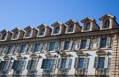 Turin architecture - Italy Stock Image