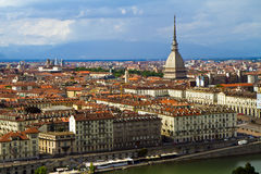 Turin avec la taupe Images stock