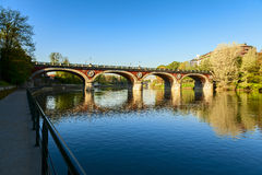 Turin bridge Royalty Free Stock Photo