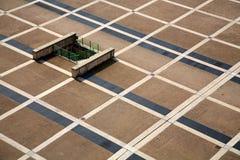 Turin Car Park. Italy Turin Car Park aerial Royalty Free Stock Photo