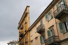 Turin, casa Scaccabarozzi foto de stock