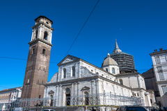 Turin Cathedral Royalty Free Stock Photography
