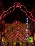 Turin Christmas lights 2010 Stock Photography