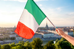Turin city in Italy Stock Photography