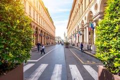 Turin city in Italy Stock Photos