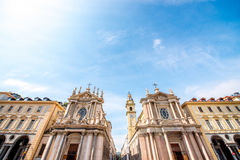 Turin city in Italy Stock Images