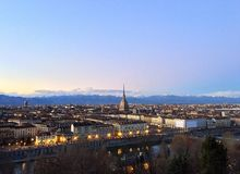 Turin city Stock Photography