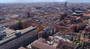 Turin cityscape Stock Photo