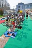12a edição do troféu da cidade de Turin do triathlon Fotografia de Stock Royalty Free
