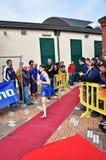 12a edição do troféu da cidade de Turin do triathlon Foto de Stock Royalty Free