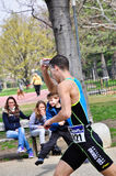 12a edição do troféu da cidade de Turin do triathlon Imagens de Stock Royalty Free