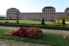 Turin den kungliga slotten av Venaria Reale Fotografering för Bildbyråer