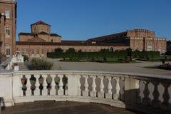 Turin den kungliga slotten av Venaria Reale Arkivbild