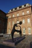 Turin den kungliga slotten av Venaria Reale Royaltyfria Foton