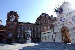 Turin den kungliga slotten av Venaria Reale Arkivfoto