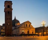 Turin domkyrka (Duomodien Torino) Fotografering för Bildbyråer
