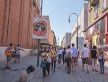 Turin en av den attraktivaste staden i Italien arkivbilder